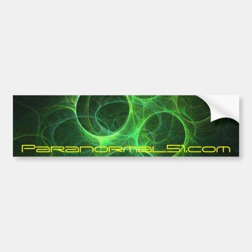 Paranormal51.com Bumper Sticker