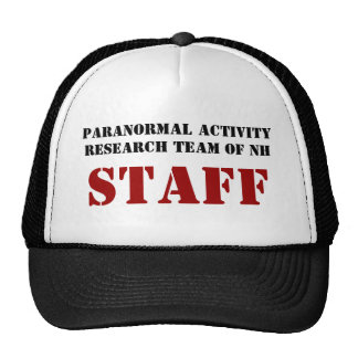 Paranormal Activity Research Team of NH, STAFF Cap