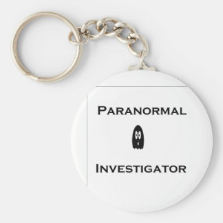 Paranormal Basic Round Button Key Ring