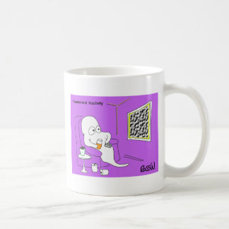 Paranormal inactivity. coffee mug