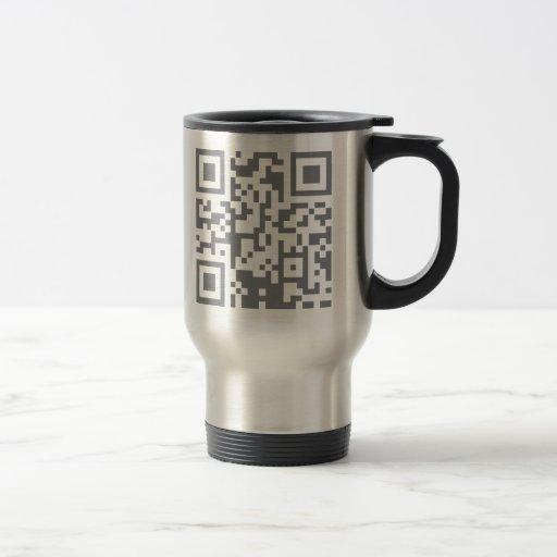 Paranormal Investigator Bar Code Coffee Mug