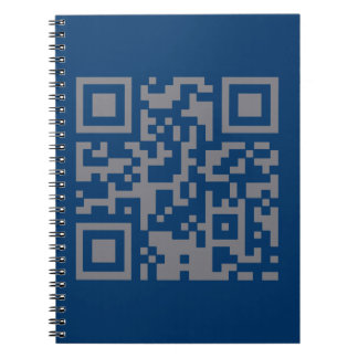 Paranormal Investigator Bar Code Spiral Note Book