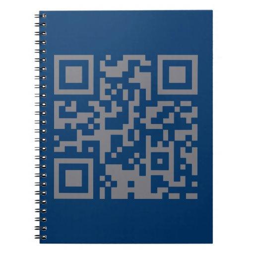 Paranormal Investigator Bar Code Spiral Note Book