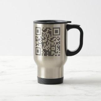 Paranormal Investigator Bar Code Travel Mug