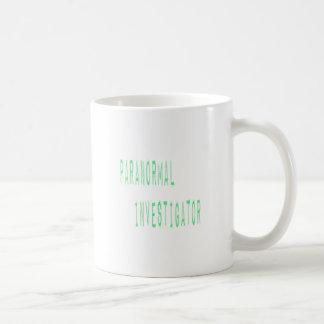 Paranormal Investigator Basic White Mug