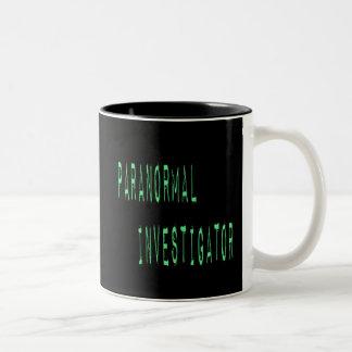 Paranormal Investigator - Black Background Mugs