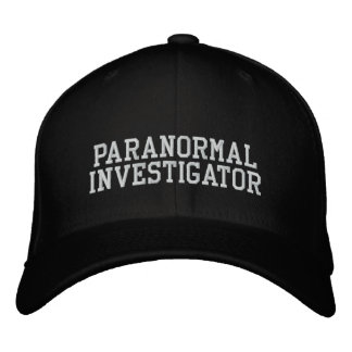 Paranormal Investigator Hat Embroidered Hat