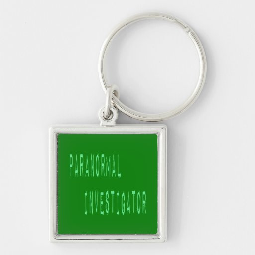 Paranormal Investigator Key Chain