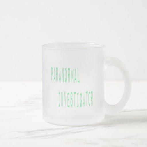 Paranormal Investigator Coffee Mug