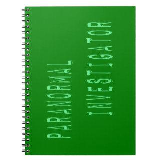 Paranormal Investigator Notebook