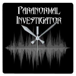 Paranormal Investigator Soundwave Clock