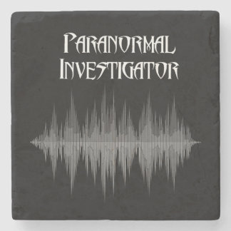 Paranormal Investigator Soundwave Marble Coaster