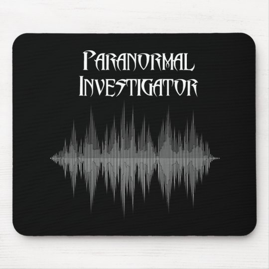 Paranormal Investigator Soundwave  Mouse Pad