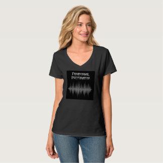 Paranormal Investigator Soundwave V Neck T Shirt