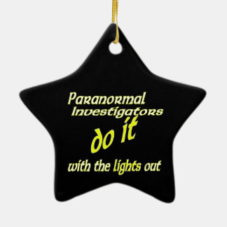 Paranormal Investigators Do It Christmas Ornament