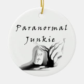 Paranormal Junkie Christmas Ornament