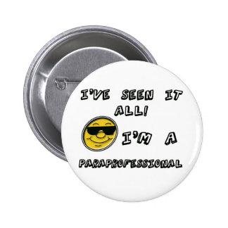 Paraprofessional 6 Cm Round Badge