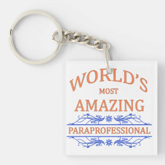 Paraprofessional Acrylic Key Chains