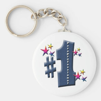 ParaProfessional Basic Round Button Key Ring