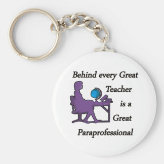 Paraprofessional Keychains