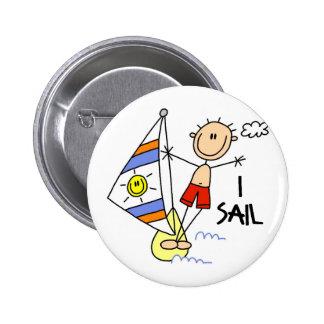 Parasailing Gift 6 Cm Round Badge
