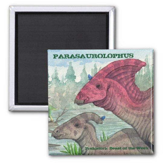 Parasaurolophus Magnet