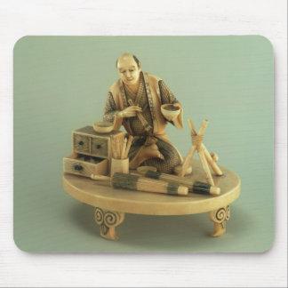 Parasol Maker, Okinomo, Edo Period Mouse Mat