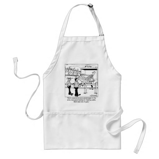 Paratrooper as Cattle Hand Apron