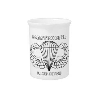 Paratrooper Jump Juice Drink Pitcher