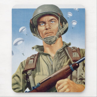 paratrooper mouse mat