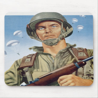 paratrooper mouse pad