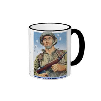 Paratrooper Ringer Coffee Mug