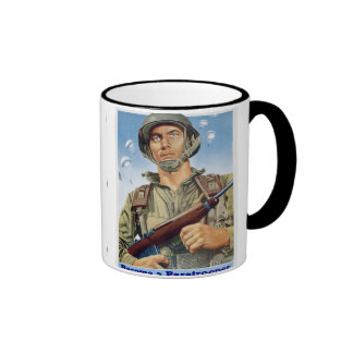 Paratrooper Ringer Mug