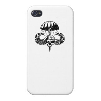 Paratrooper Skull Cover For iPhone 4