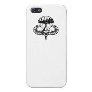 Paratrooper Skull iPhone 5/5S Covers