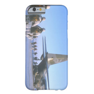Paratroopers boarding C-130_Military Aircraft Barely There iPhone 6 Case