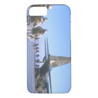 Paratroopers boarding C-130_Military Aircraft iPhone 7 Case