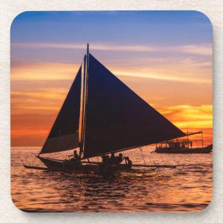 Paraw Sailing At Sunset |Phillipines Coaster