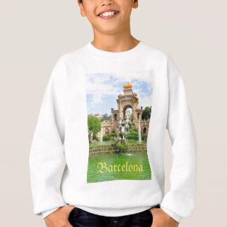 Parc de la Ciutadella in Barcelona Sweatshirt