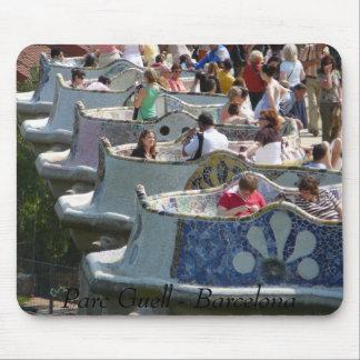 Parc Guell Mouse Mat