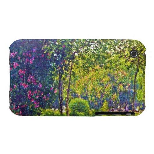 Parc Monceau Claude Monet iPhone 3 Case-Mate Case