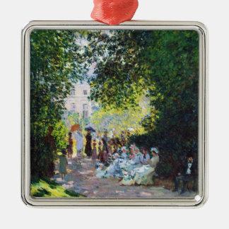 Parc Monceau Claude Monet painting Christmas Tree Ornament