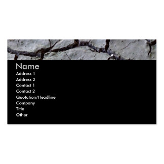 Parched Earth Dark Business Card