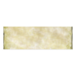 Parchment Paper Aged Pack Of Skinny Business Cards