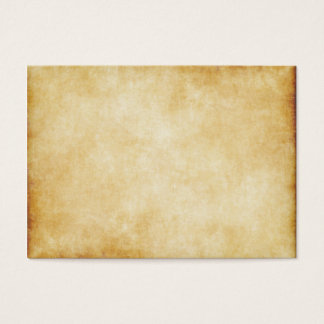 Parchment Paper Background Business Card