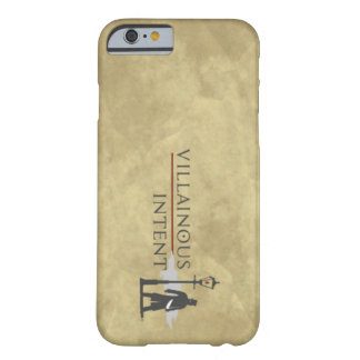 Parchment Villainous Intent iPhone case Barely There iPhone 6 Case