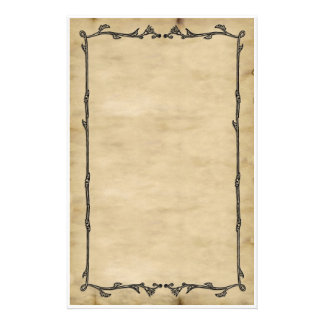 Parchment Vine Stationery