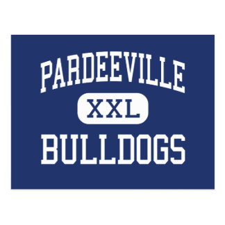 Pardeeville - Bulldogs - High - Pardeeville Postcard