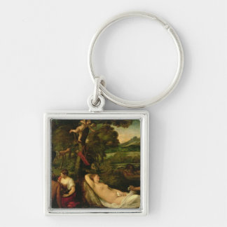 Pardo Venus or Jupiter and Antiope Key Ring