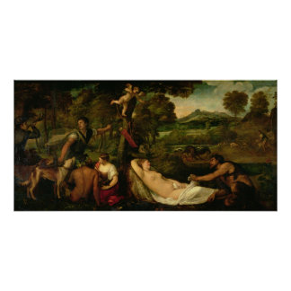 Pardo Venus or Jupiter and Antiope Poster